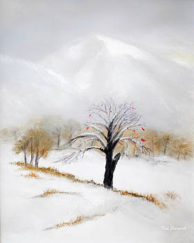 White Mountain First Snow by Dick Bourgault