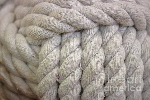 Paulette Thomas - White Nautical Rope