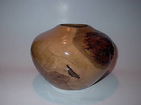 White Oak Vessel by Shawn Roberts