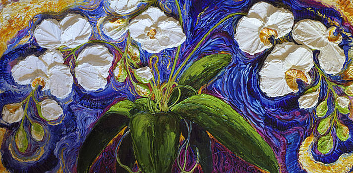 White Orchid by Paris Wyatt Llanso