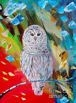White Owl by Inessa Williams