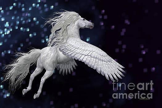 Corey Ford - White Pegasus in Sky