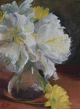 White Peonies by Katherine Seger
