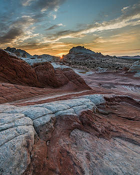 White Pocket Sunset by Chuck Jason
