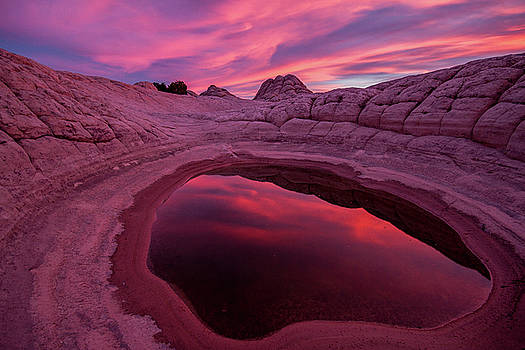 White Pocket Sunset by Wesley Aston