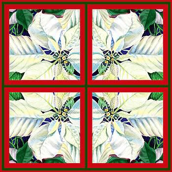 Irina Sztukowski - White Poinsettia Quartet
