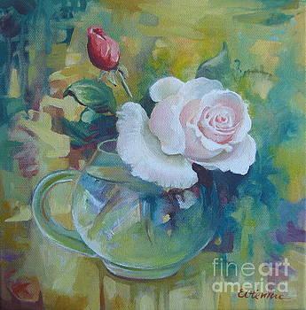 White rose by Elena Oleniuc