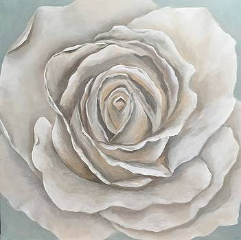 White Rose by Ghislaine Bransby-Zachary