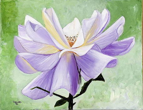 White Rose by Leonard R Wilkinson