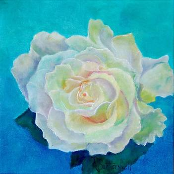 White Rose by Rosemary Buettgenbach