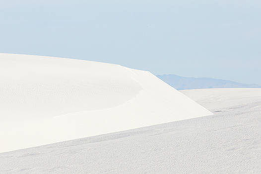 White Sand Dunes New Mexico Seven by Bill Swindaman
