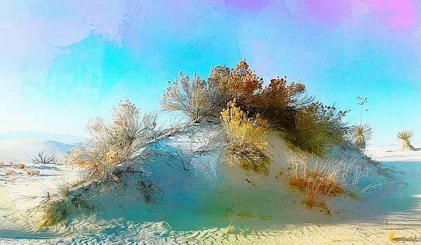 White Sand Dunes Vegetation by Barbara Chichester