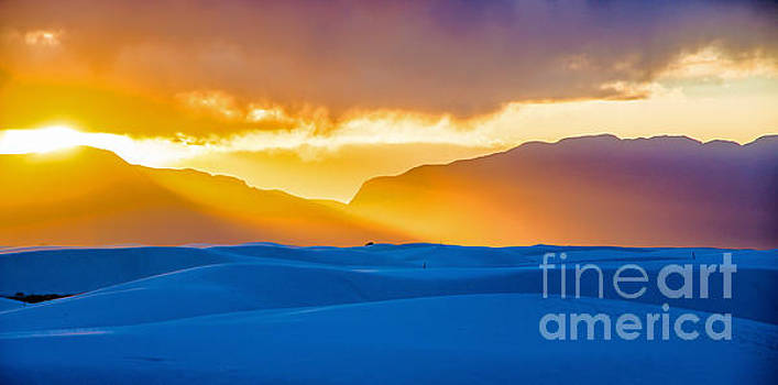 White Sands Panorama 2 by Stephen Whalen