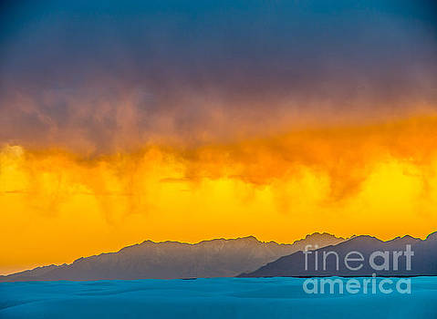 White Sands Sunset 3 by Stephen Whalen