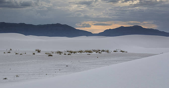 White Sands Sunset by Focus On Nature Photography