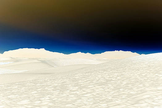 White Sands Twilight by Carrie Cooper