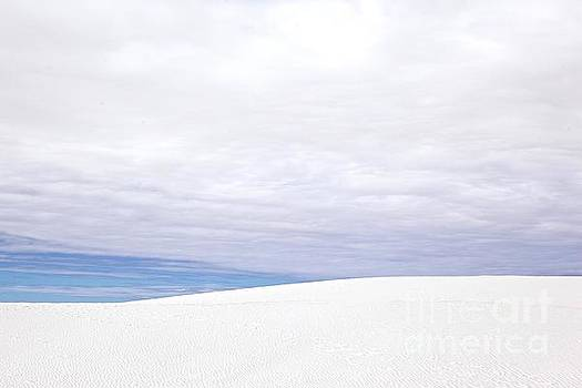 White Sands White Clouds by Glennis Siverson