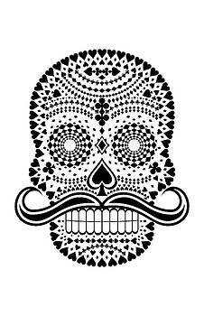 White Skull Black Suits by Felipe Navega