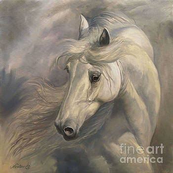 White Stallion by Jeanne Newton Schoborg