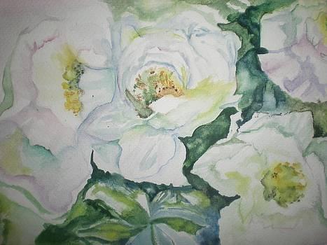 White Stillness by Desiree Uchitsubo