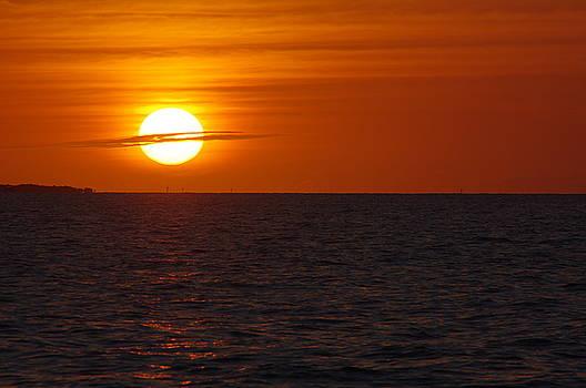 White Street Pier Sunrise by Greg Graham