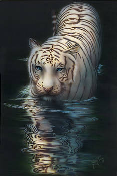 White Tiger by Wayne Pruse