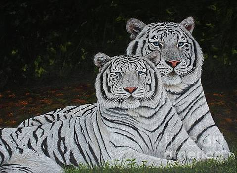 White Tigers by Sid Ball