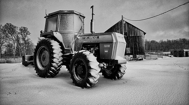 White Tractor by Bryan Smith