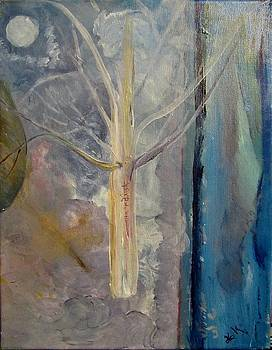 White Tree by Debi K Baughman