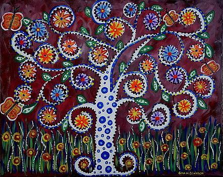 White tree by Gina Nicolae Johnson