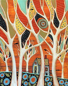 White Trees by Karla Gerard