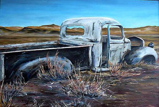 White truck by Seth Johnson