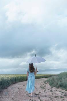 White Umbrella by Joana Kruse