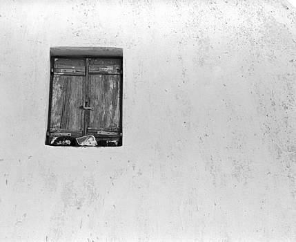 Bernice Williams - White Wall and Window