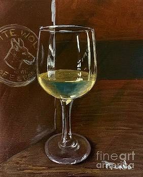 White Wolf Chardonnay by Holly Picano