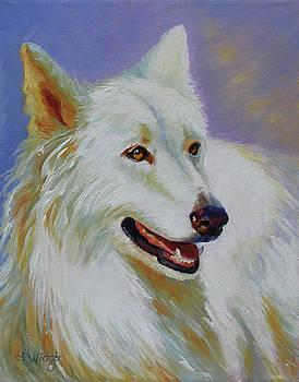White Wolf by Katy Widger