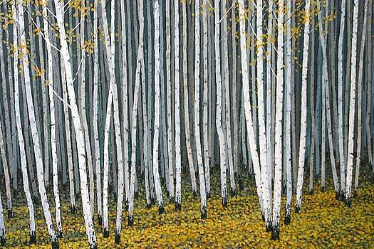 White Woods by Dennis Curry