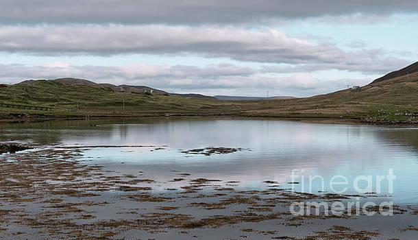 Whiteness Voe Shetland Islands by Lynn Bolt