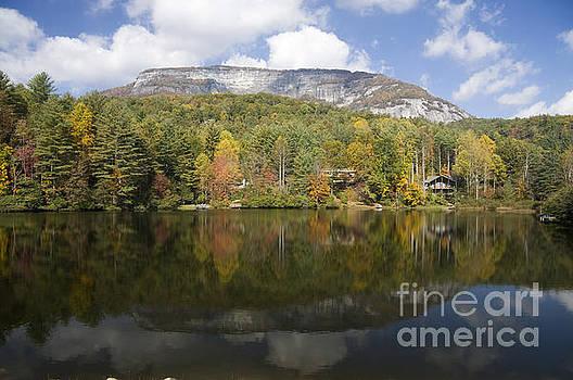 Jill Lang - Whiteside Mountain Lake Reflections
