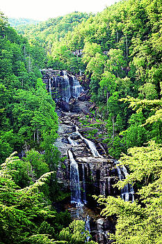 Whitewater Falls 1 by Megan Swormstedt