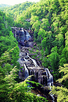 Whitewater Falls 3 by Megan Swormstedt