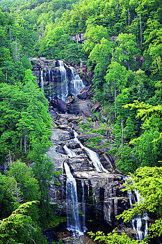 Whitewater Falls 4 by Megan Swormstedt