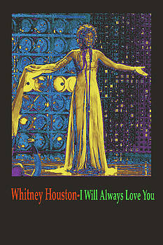 Whitney Houston by Michael Chatman