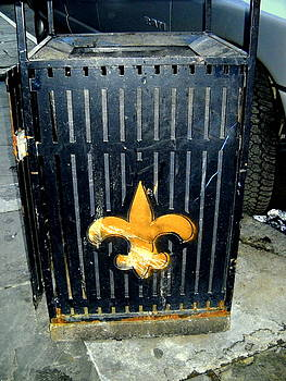 Who Dat Garbage Can by Ted Hebbler