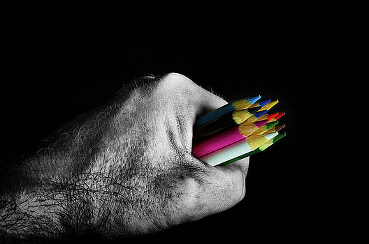 Who Enjoys Colouring? by Garvin Hunter