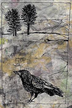 Whole Cloth Crow by Diana Ludwig