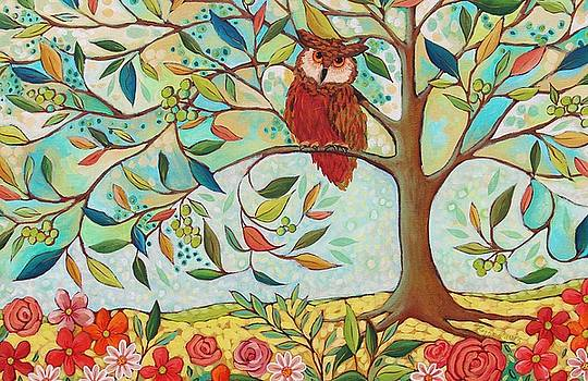 Whooo's Sitting There by Peggy Davis
