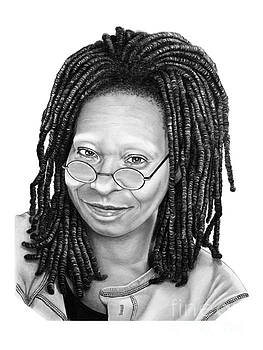 Whoopi Goldberg by Murphy Elliott
