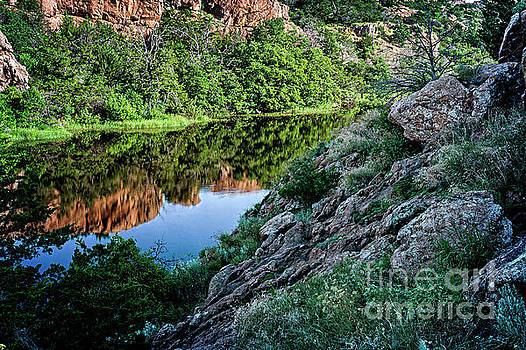 Wichita Mountain River by Tamyra Ayles