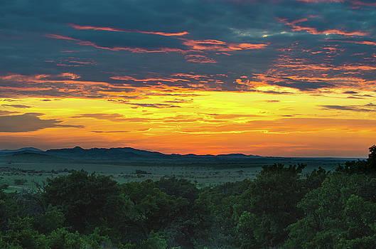 Jeff Phillippi - Wichita Mountains Sunset